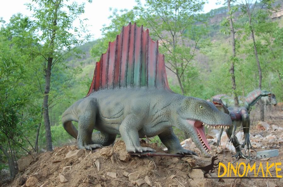 large Animatronic dinosaurs models