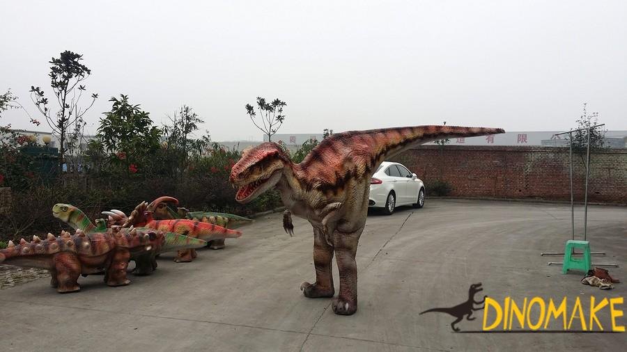 new materials t-rex walking Dinosaur costume