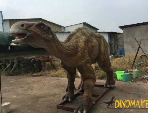 Whole Process of Making an Animatronic Dinosaur?