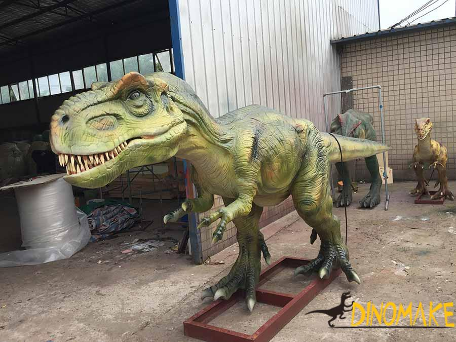 t-rex sculpture