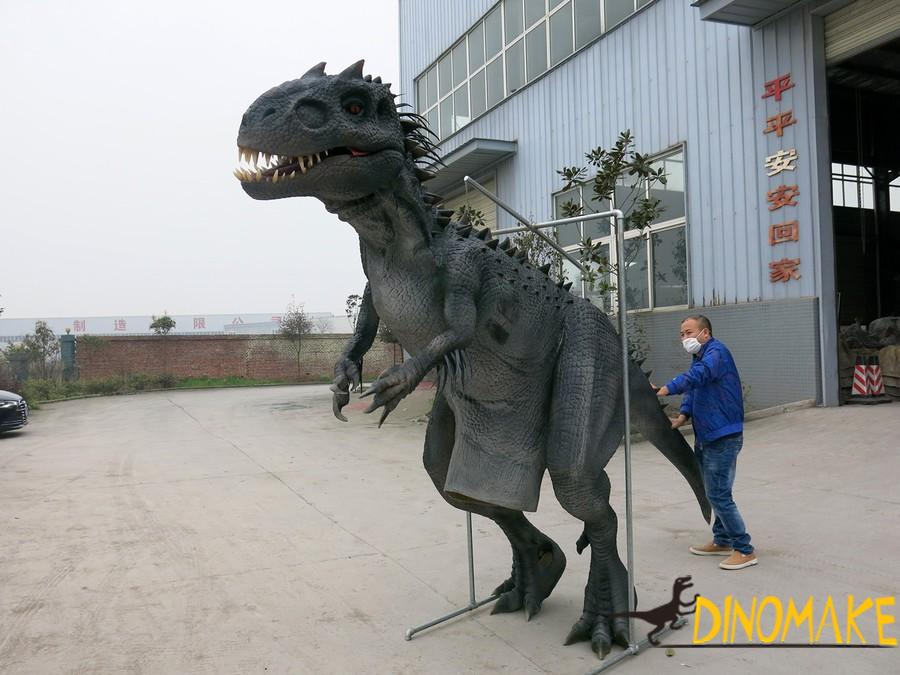 A group of Animatronic dinosaur suit for sale at factory prices