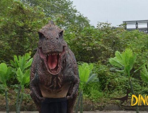 Adult puppet realistic Animatronic dinosaur costume for sale