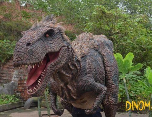 Adult realistic Animatronic dinosaur T-rex costume