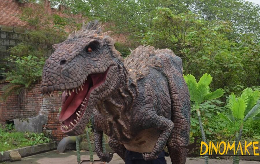 Adult realistic Animatronic dinosaur costume