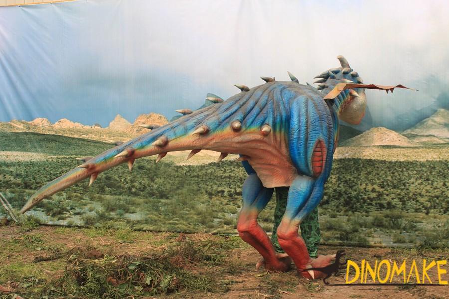 Adult walking T-Rex dinosaur costume