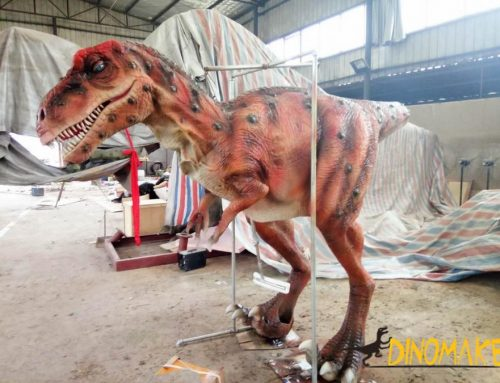 Amusement animatronic dinosaur Costume