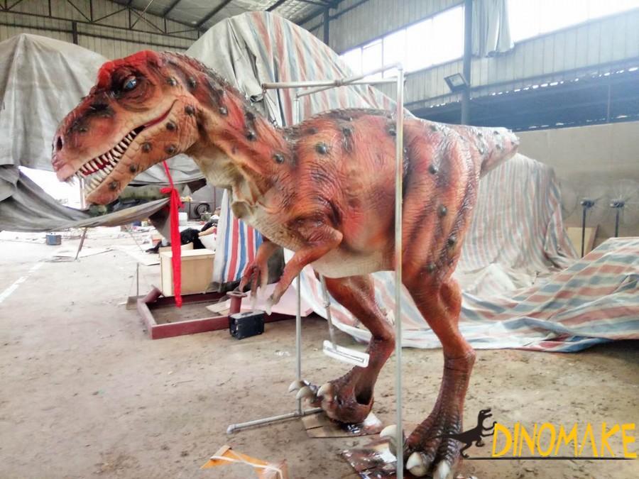 Amusement animatronic dinosaur Costume