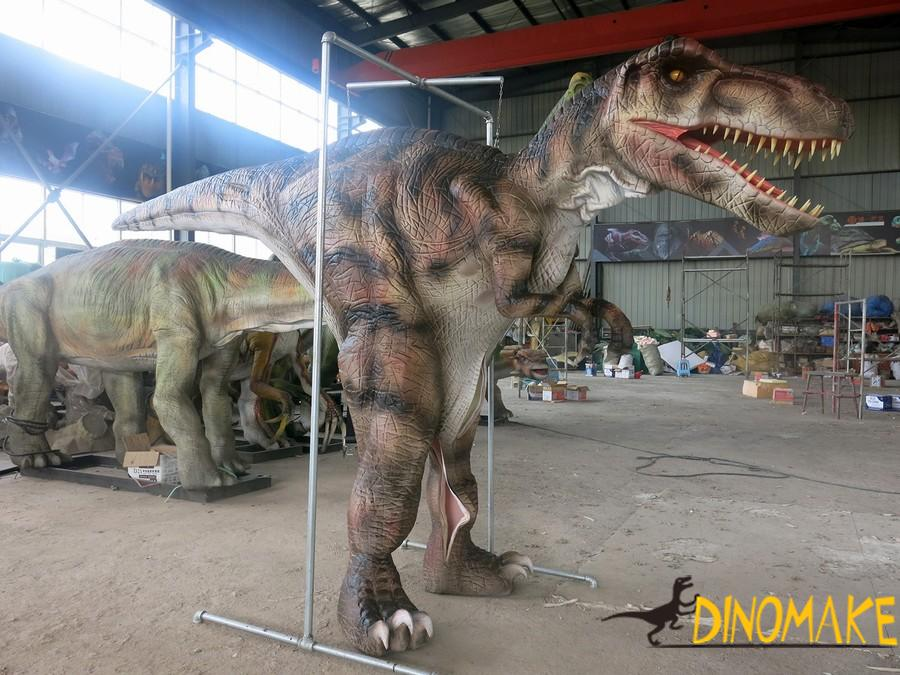 Amusement animatronic dinosaur of suit
