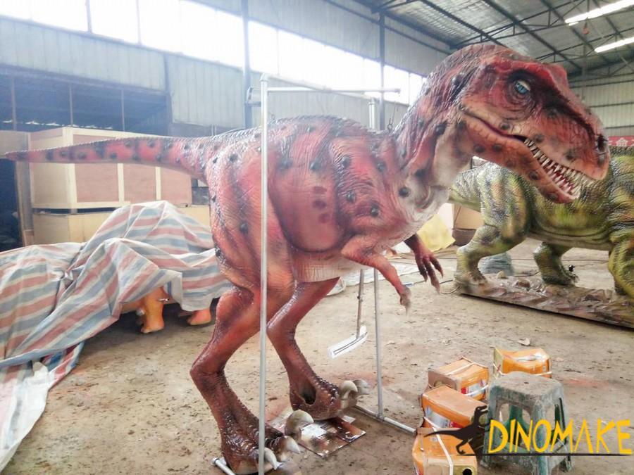 Amusement animatronic dinosaur suit