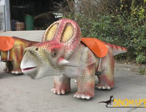 Amusement facilities coin-operated cartoon Animatronic dinosaur Car