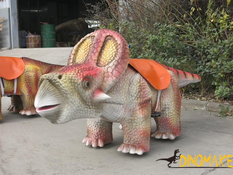Amusement facilities cartoon Animatronic dinosaur Car