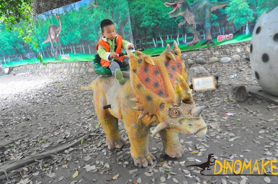 Amusement facilities coin-operated cartoon Animatronic dinosaur Car