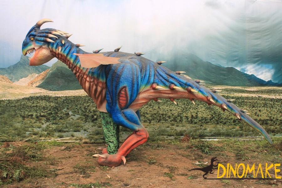 Amusement park animatronic walking dinosaur Costume