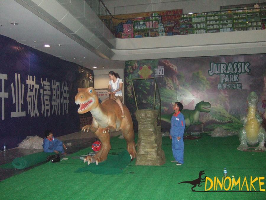 Amusement park facilities ride Animatronic Dinosaur
