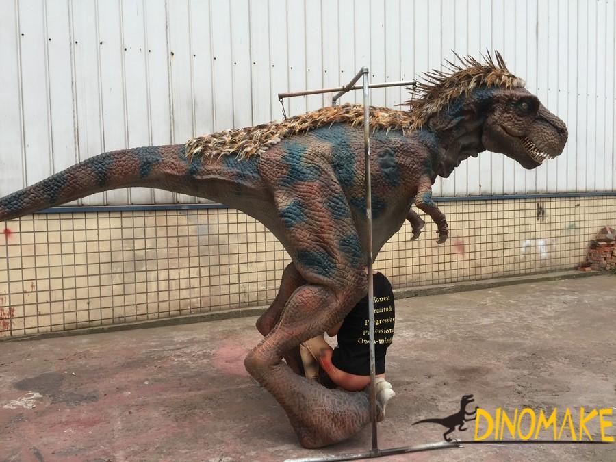 Amusement park walking animatronic dinosaur Costume