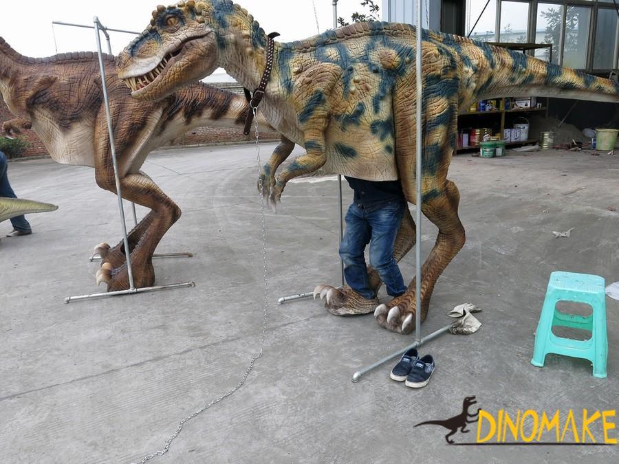 Amusement park walking dinosaur Costume