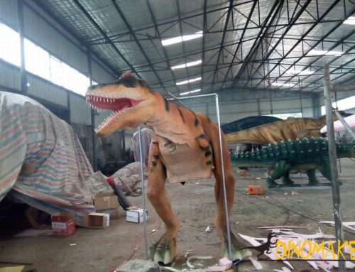 Animatronic Dinosaur Costume Prank – Fun Ideas in Public Places