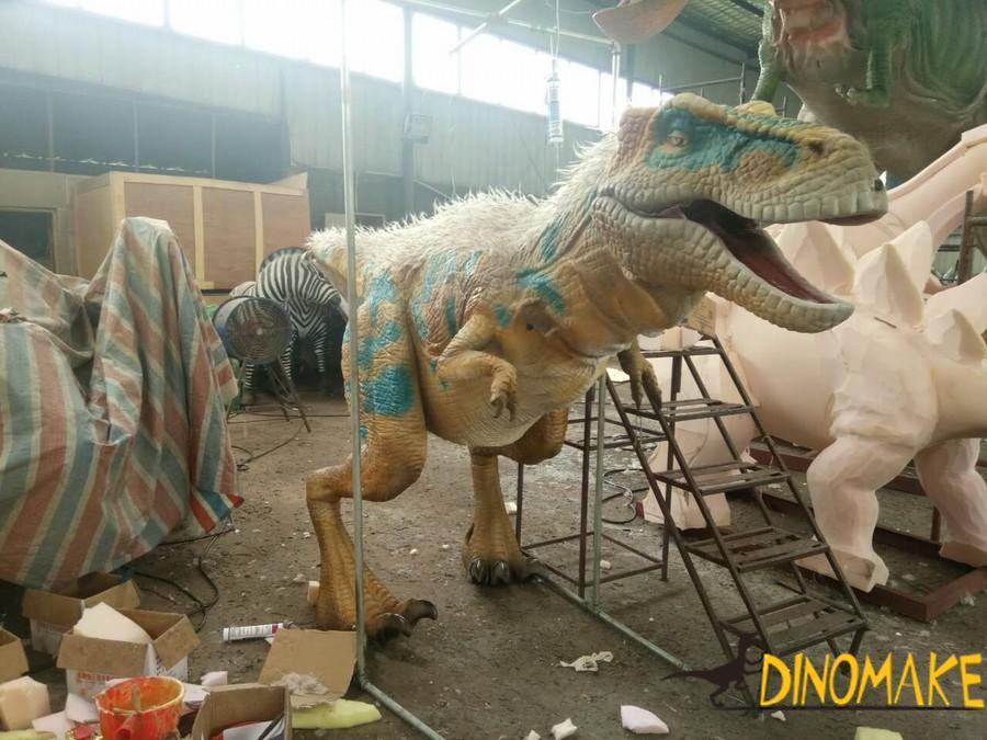 Animatronic Dinosaur Costume Prank