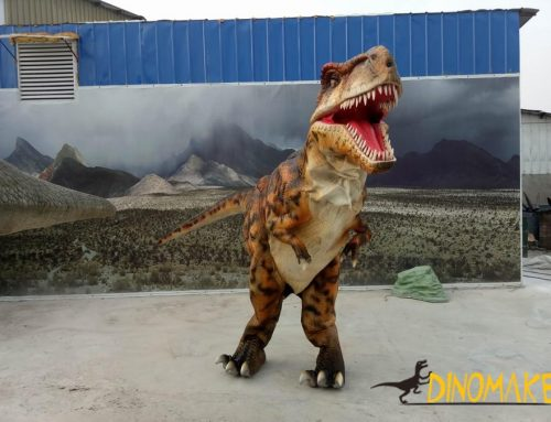 Walking Animatronic Dinosaur Costume is a hot movie prop