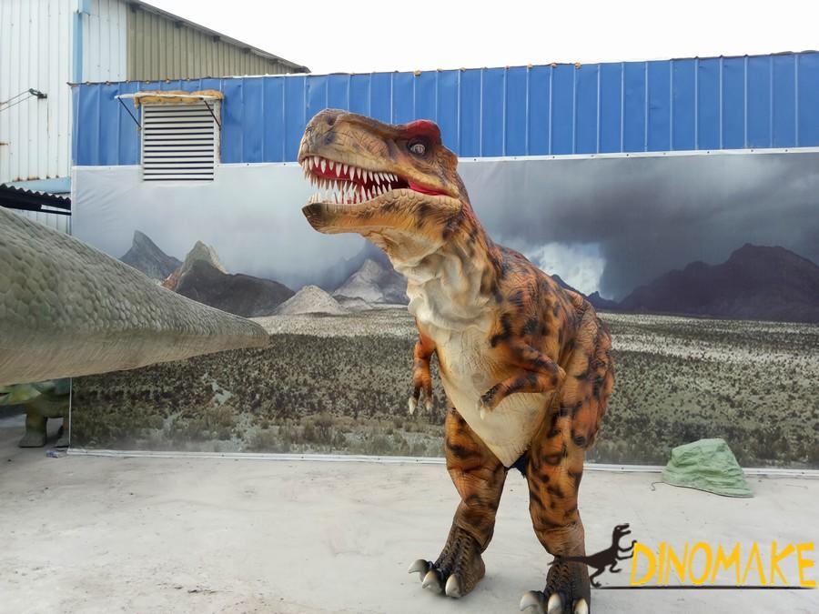 Animatronic Dinosaur Costume is the hot movie prop