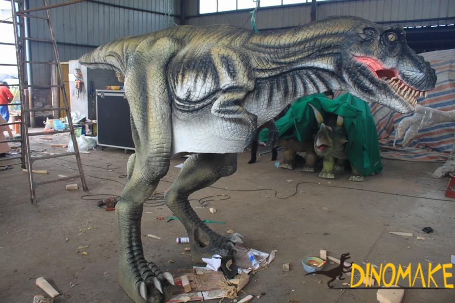 Animatronic Dinosaur Costume model for theme park