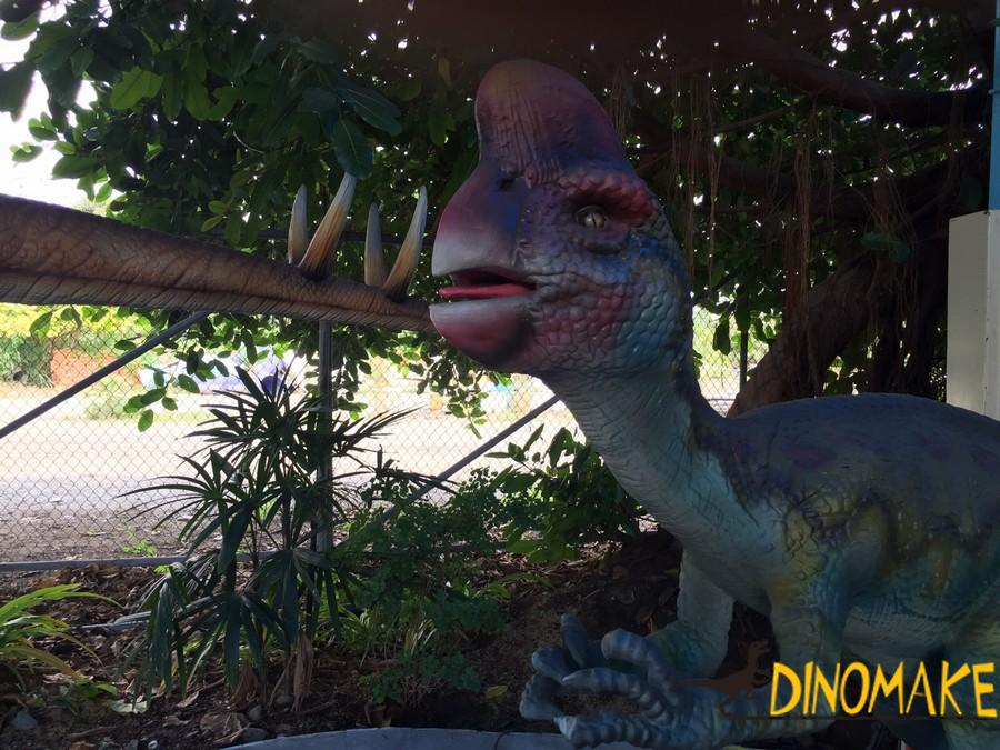Animatronic Dinosaur Exhibition in the London