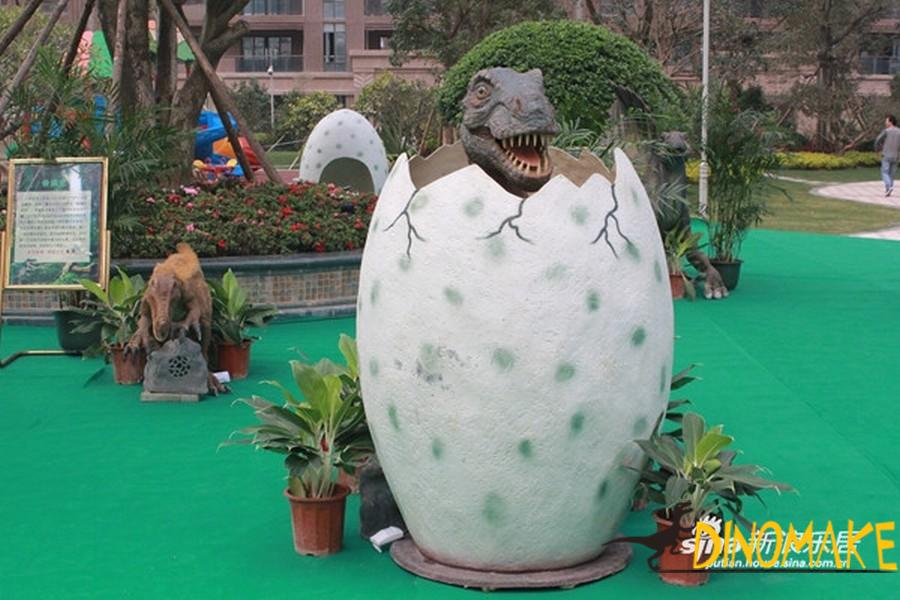 Animatronic Dinosaur Hatching Egg Product