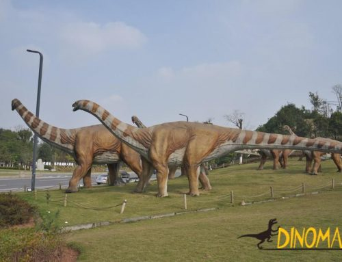Animatronic Dinosaur Model Finished And Disassembled of USA