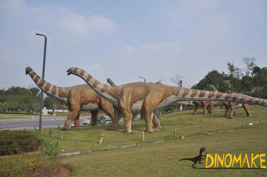 Animatronic Dinosaur Model Finished And Disassembled in USA