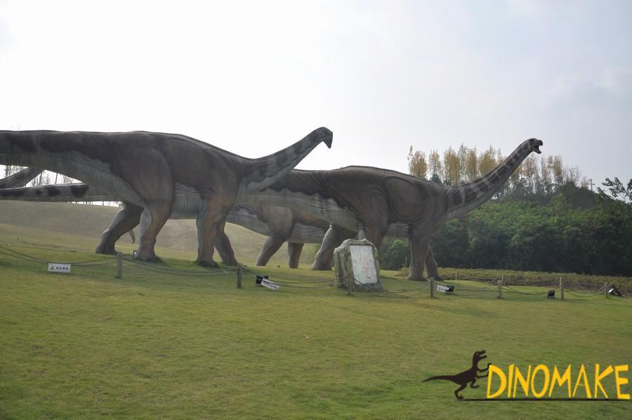 Animatronic Dinosaur Model Finished And Disassembled of USA