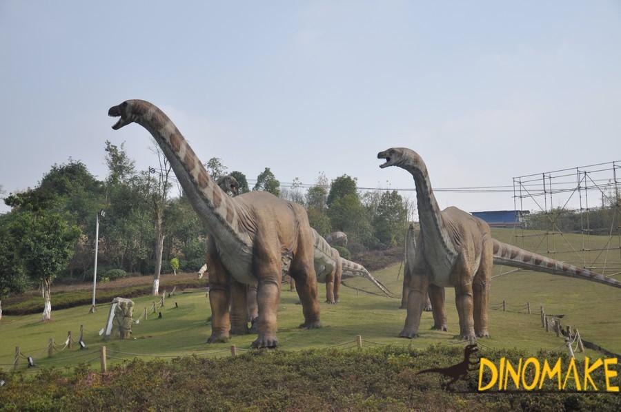 Animatronic Dinosaur Model Finished And Disassembled