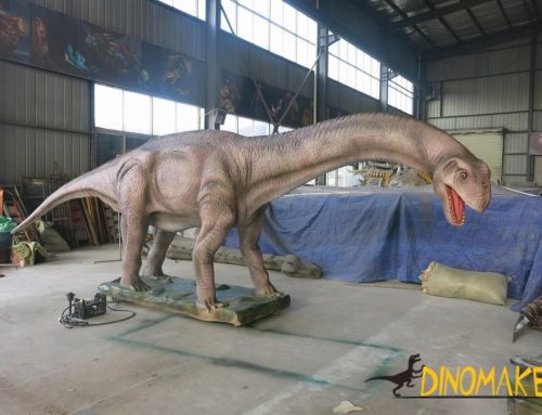 Fiberglass Dinosaur and Silicone Dinosaur Animatronic Dinosaur Model Making