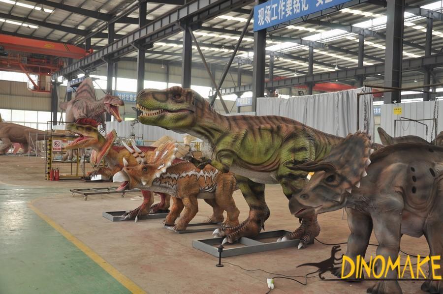 Animatronic Dinosaur Model of USA