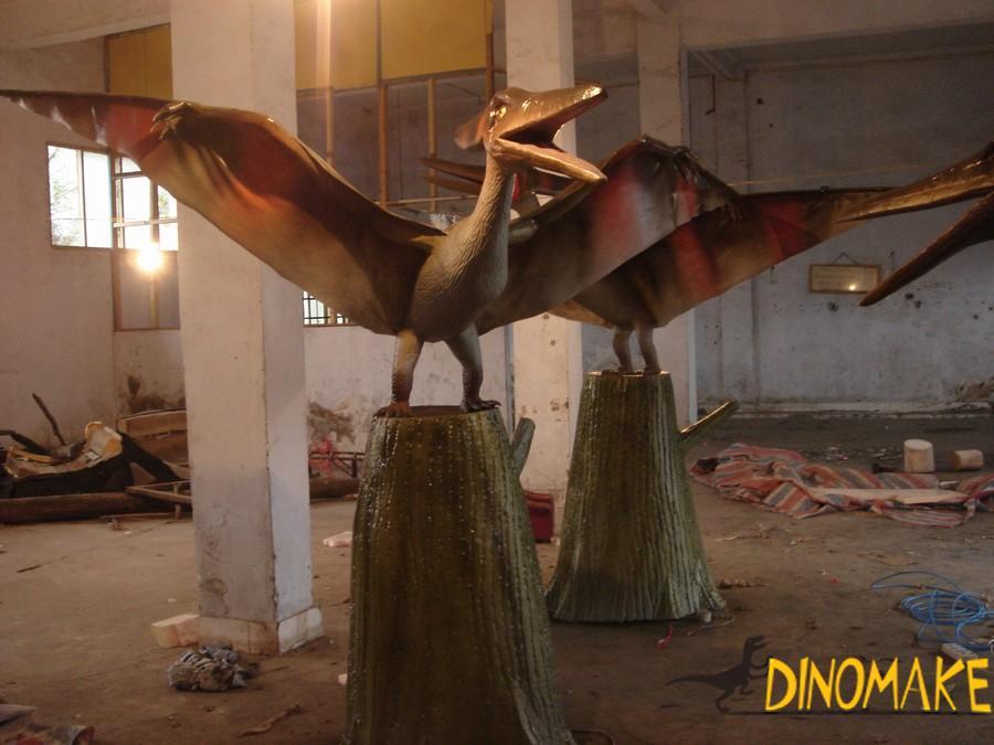 Animatronic Dinosaur Park-Funny Scene Clips