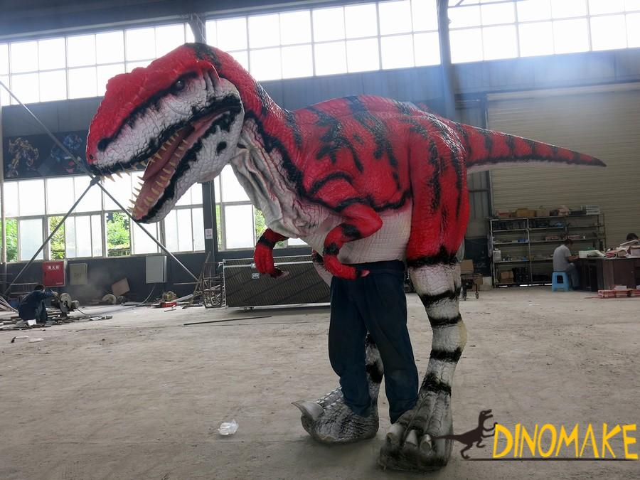 Animatronic Dinosaur T-Rex costume for sale of newly high-tech upgraded
