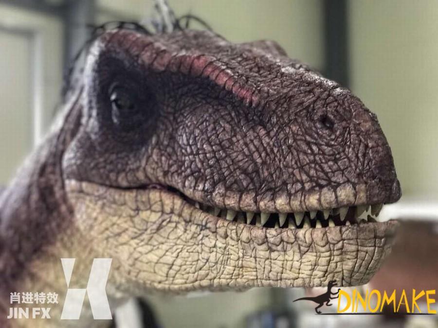 Animatronic Dinosaur costumes with t-rex