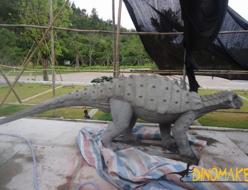 Real Animatronic Dinosaur model of the dinosaur factory