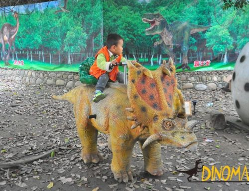 Animatronic Dinosaur ride model cars of Children