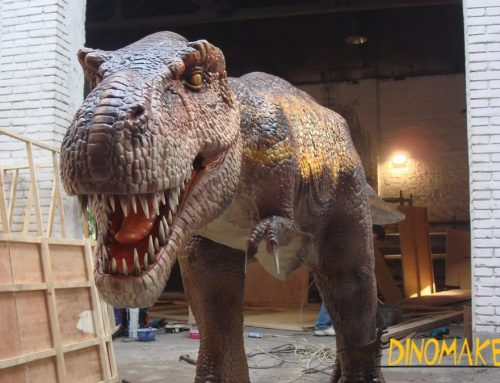 Outdoor playground models Animatronic Dinosaur for sale