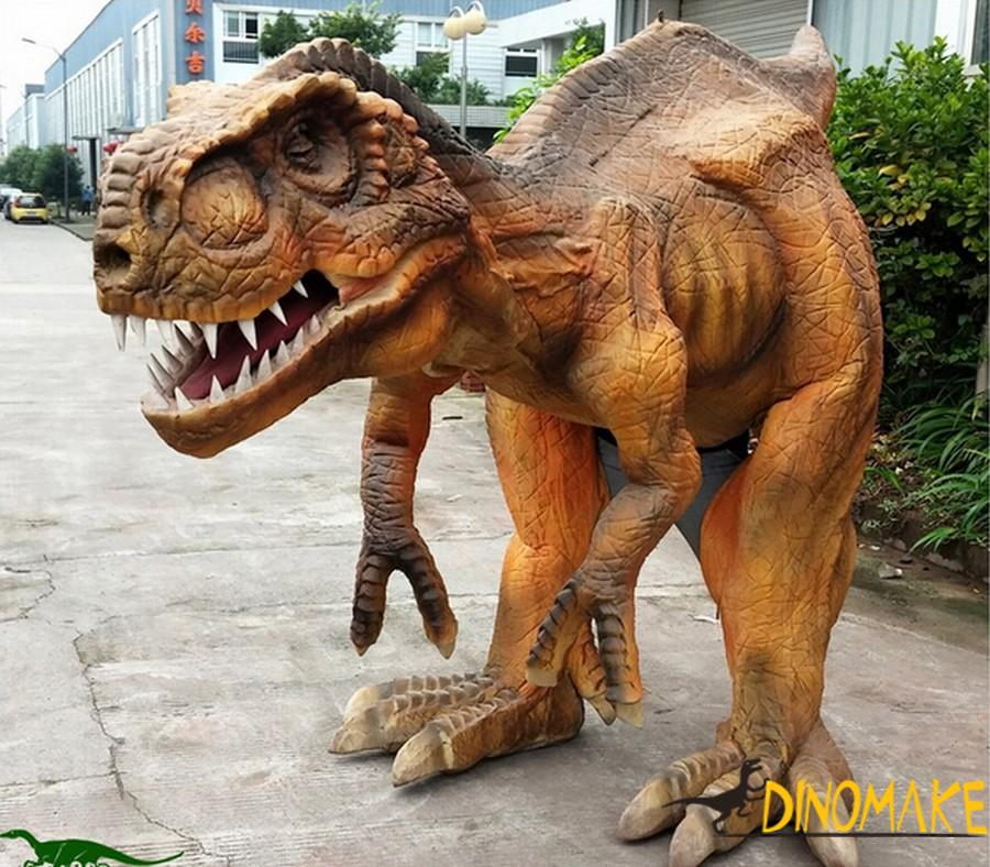 Animatronic T-Rex Dinosaur Costume for Halloween Day Adult Show