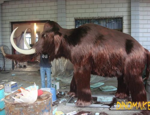 Prehistoric biological Animatronic Animal Mammoth