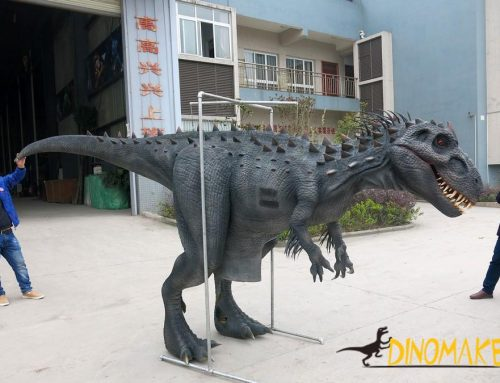 life-size Animatronic dinosaur of Costume model