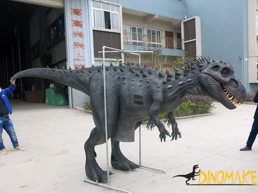 Animatronic dinosaur Costume model