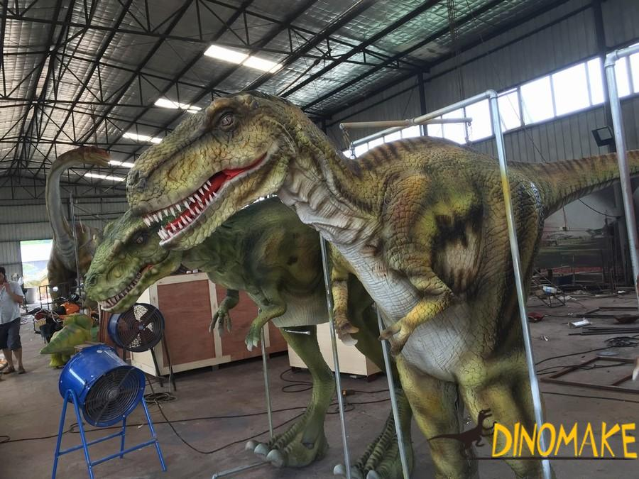 Animatronic dinosaur Costume robots