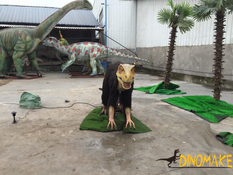 Animatronic dinosaur Produc Dromaeosaurus