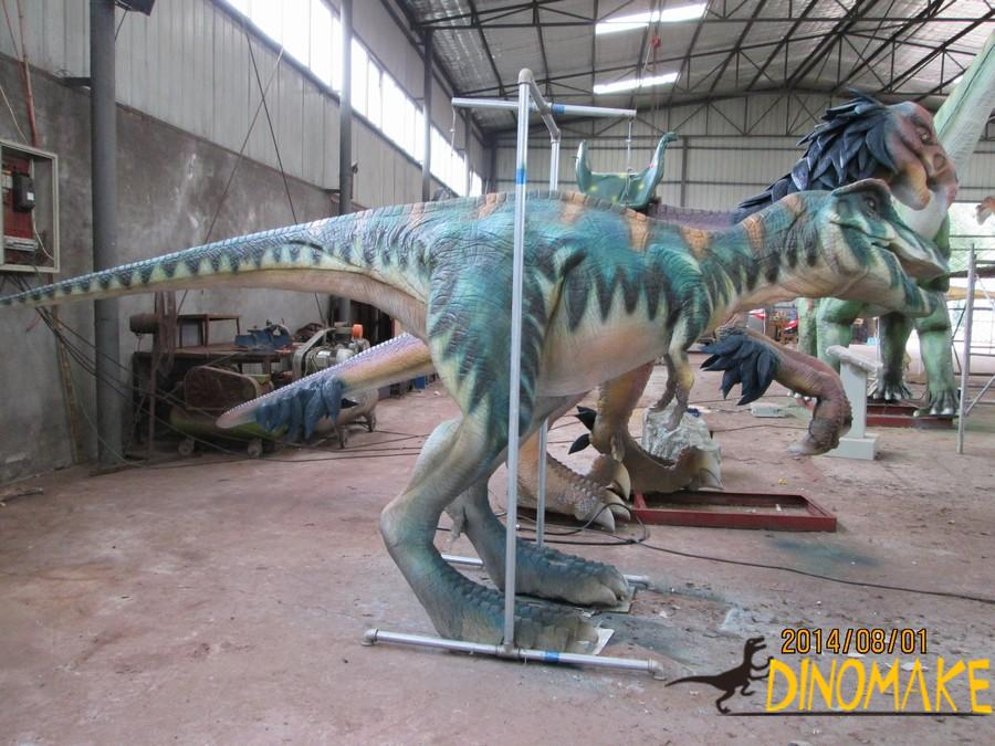 Animatronic dinosaur T-Rex spit water costume