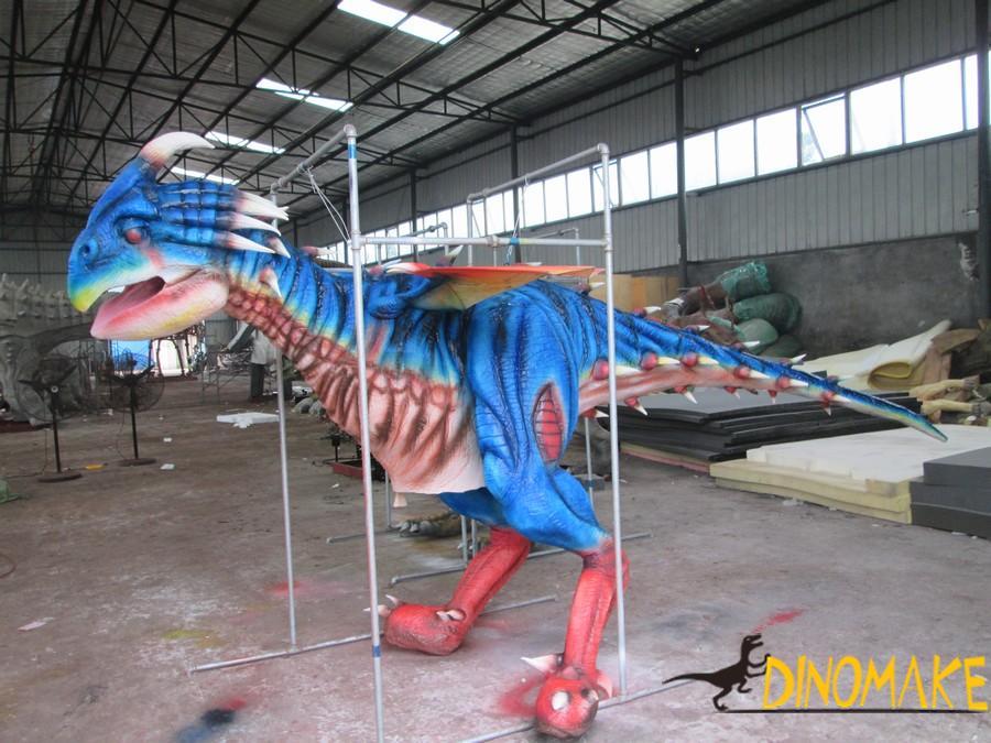 Animatronic dinosaur costume adult can operate