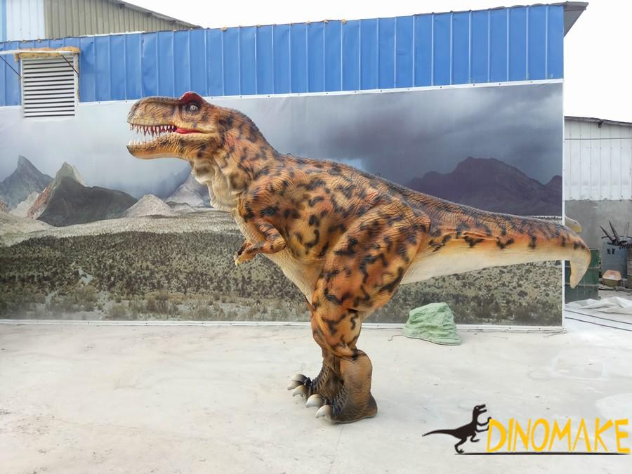 Animatronic dinosaur costume of T-Rex for sale to Japanese