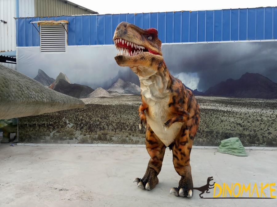 Animatronic dinosaur costume of T-Rex