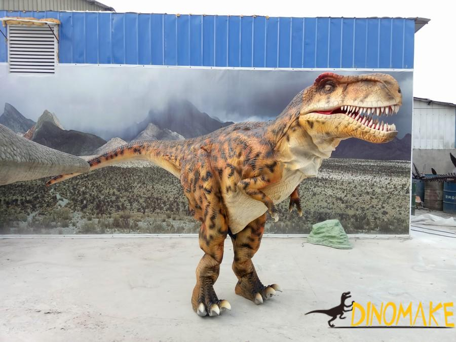 Animatronic dinosaur costume sold during Christmas